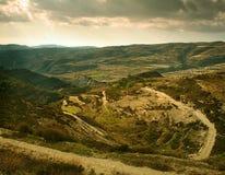 Montagne de Troodos Image libre de droits