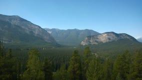 Montagne de tunnel de banff de vallée d'arc Photo stock