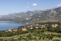 Montagne de Velebit en Croatie Photographie stock