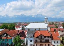montagne de ville Image stock