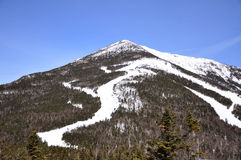 Montagne de Whiteface en hiver, Adirondacks photo libre de droits