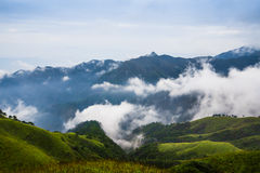Montagne de Wugong Photographie stock