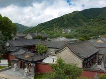 Montagne de Wutai photographie stock