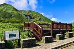 Montagne de Yangmingshan à Taïpeh, Taïwan Photographie stock libre de droits