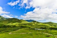 Montagne de Yangmingshan à Taïpeh, Taïwan Image stock