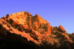 Montagne de yulong de Milou Photo libre de droits