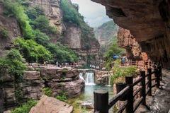 Montagne de Yuntai Images libres de droits