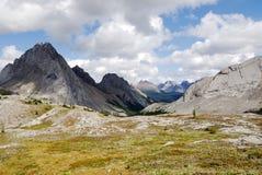 montagne dei prati rocciose Immagini Stock Libere da Diritti