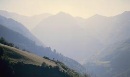 Montagne dei Pyrenees Fotografie Stock Libere da Diritti