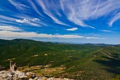 Montagne dei Pyrenees Fotografie Stock