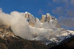 Montagne del Alpes Immagini Stock Libere da Diritti