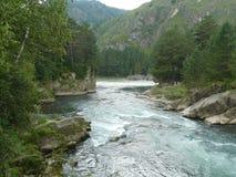 Montagne del Altai Fotografia Stock Libera da Diritti