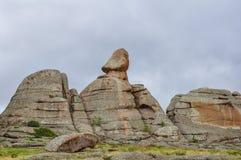 montagne del bayanaul Fotografia Stock Libera da Diritti