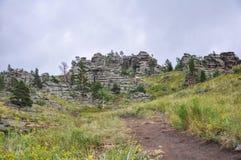 montagne del bayanaul Immagine Stock