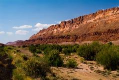 Montagne del bordo della strada nell'Utah Fotografie Stock