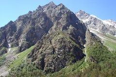 Montagne del Caucaso fotografie stock libere da diritti