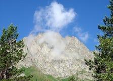 Montagne del Caucaso fotografia stock