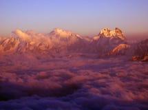 Montagne del Caucaso Immagini Stock