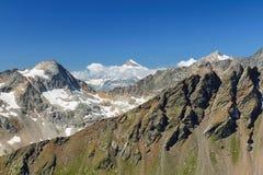 Montagne del Caucaso Immagine Stock