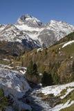 Montagne del distretto di Albula Fotografia Stock Libera da Diritti