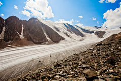 Montagne del ghiacciaio Fotografie Stock