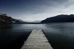 Montagne del lago Immagine Stock