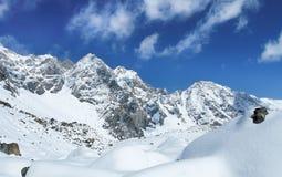Montagne del lago Baikal nell'inverno Immagini Stock Libere da Diritti