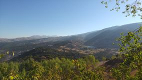 Montagne del Libano di estate Fotografie Stock Libere da Diritti