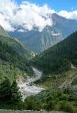 Montagne del Nepal, Himalaya, Asia Immagini Stock Libere da Diritti