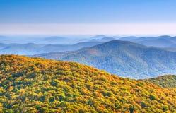 Montagne del nord della Georgia Fotografia Stock