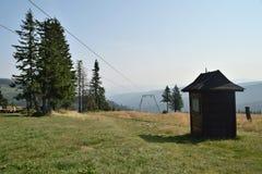 Montagne del polacco di Beskid Fotografia Stock Libera da Diritti