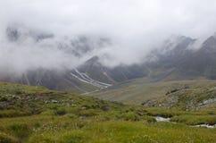 Montagne del Sayan orientale Fotografie Stock