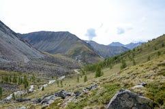 Montagne del Sayan orientale Immagine Stock Libera da Diritti