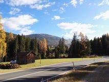 Montagne del Trentino Alto Adige. Durante giornate di trekking in altura royalty free stock photography