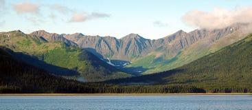 Montagne dell'Alaska fotografie stock libere da diritti