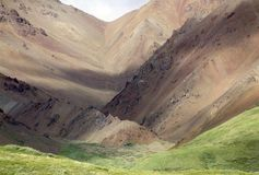 Montagne dell'Alaska Fotografie Stock