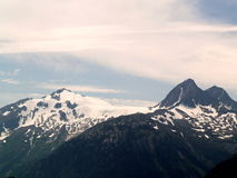 Montagne dell'Alaska Fotografia Stock