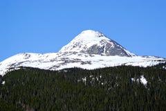 Montagne dell'Alaska (picco) Fotografia Stock