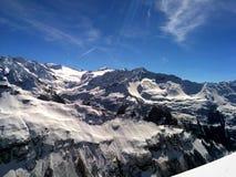 Montagne dell'alpe Fotografia Stock Libera da Diritti