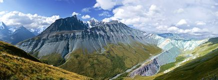 Montagne dell'Altay immagine stock