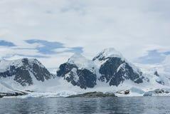 Montagne dell'Antartide - 1. Fotografia Stock Libera da Diritti
