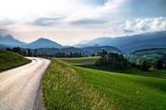 Montagne dell'Austria, alpi Immagini Stock Libere da Diritti