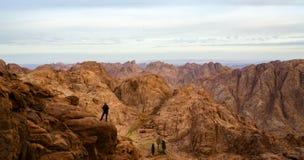 Montagne dell'Egitto, Sinai Fotografia Stock Libera da Diritti