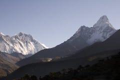 Montagne dell'Himalaya - Nepal Immagini Stock Libere da Diritti