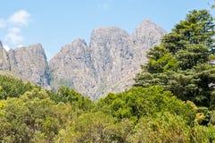 Montagne dell'Hottentots-Olanda immagini stock libere da diritti