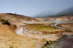 Montagne dell'Islanda fotografia stock