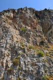 Montagne dell'isola di Samos fotografia stock