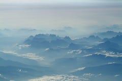 Montagne dell'Italia Fotografia Stock