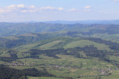 Montagne dell'ucranino di bellezza!! Fotografia Stock Libera da Diritti