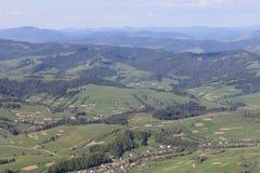 Montagne dell'ucranino di bellezza!! Fotografie Stock